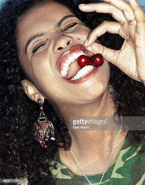 Singer Neneh Cherry is photographed on April 19 2005 in London England