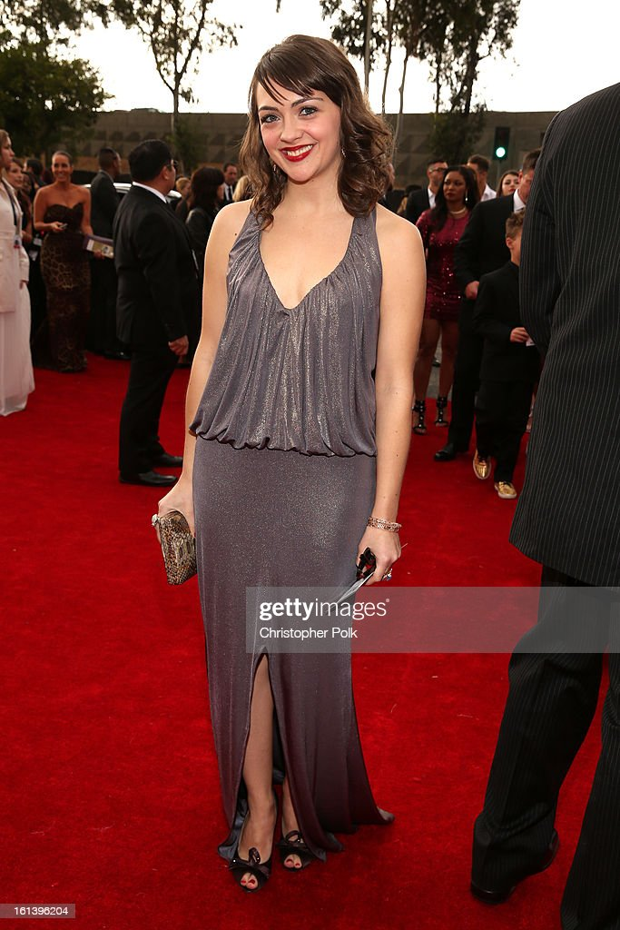 Singer Neyla Pekarek of the Lumineers attends the 55th Annual GRAMMY Awards at STAPLES Center on February 10, 2013 in Los Angeles, California.