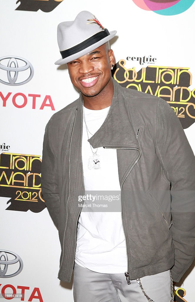 Singer <a gi-track='captionPersonalityLinkClicked' href=/galleries/search?phrase=Ne-Yo&family=editorial&specificpeople=451543 ng-click='$event.stopPropagation()'>Ne-Yo</a> attends the Soul Train Awards 2012 at PH Live at Planet Hollywood Resort and Casino on November 8, 2012 in Las Vegas, Nevada.