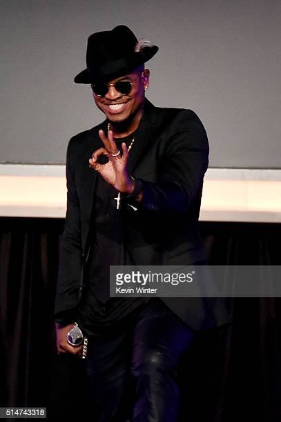 Singer NeYo performs at the Alliance for Children's Rights' 24th annual dinner at The Beverly Hilton Hotel on March 10 2016 in Beverly Hills...