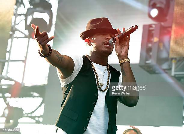 Singer NeYo performs onstage during 1027 KIIS FM's 2015 Wango Tango at StubHub Center on May 9 2015 in Los Angeles California