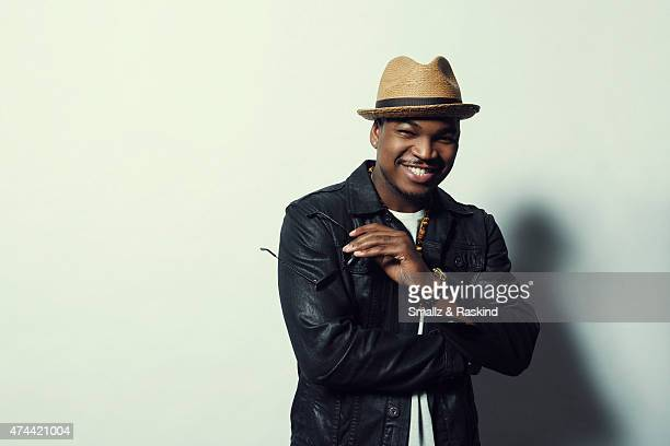 Singer NeYo poses for a portrait at the 1027 KIIS FM's Wango Tango portrait studio for People Magazine on May 9 2015 in Carson California