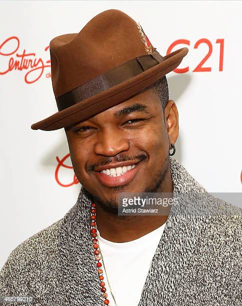 Singer NeYo visits Century 21 Department Store on March 10 2015 in New York City