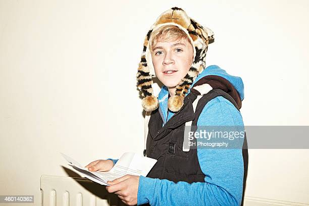 Singer Niall Horan of pop band One Direction is photographed on October 20 2010 in London England