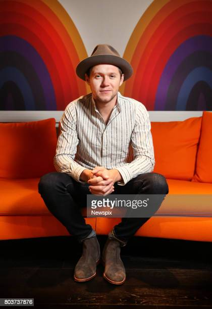 SYDNEY NSW Singer Niall Horan poses during a photo shoot at EMI in Sydney New South Wales