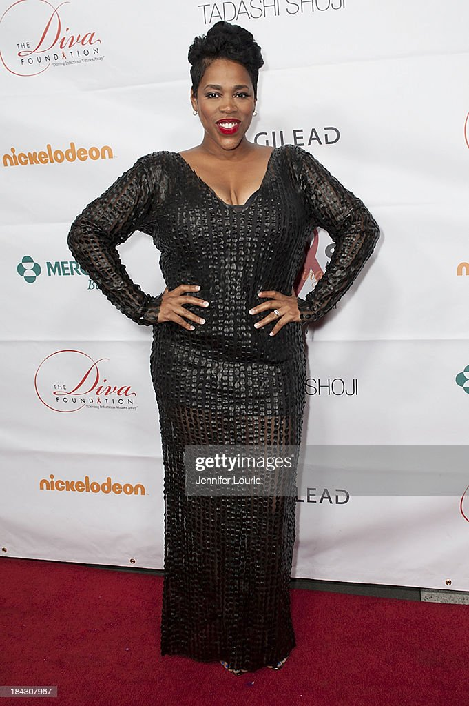 Singer Nicci Gilbert attends the 23rd Annual HIV/AIDS benefit concert DIVAS Simply Singing! at Club Nokia on October 12, 2013 in Los Angeles, California.