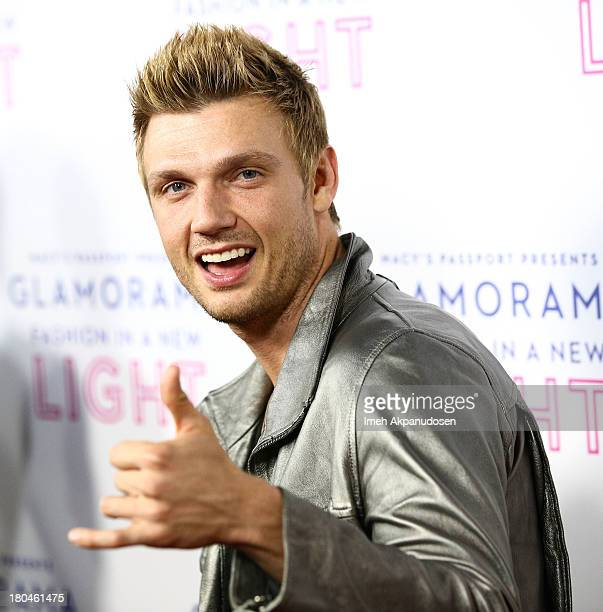 Singer Nick Carter of Backstreet Boys attends Glamorama presented by Macy's Passport at Orpheum Theatre on September 12 2013 in Los Angeles California
