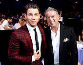 Singer Nick Jonas and radio personality Elvis Duran attend the 2015 iHeartRadio Music Awards which broadcasted live on NBC from The Shrine Auditorium...