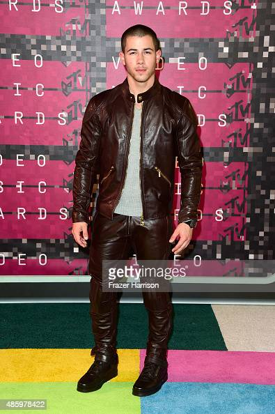 Singer Nick Jonas attends the 2015 MTV Video Music Awards at Microsoft Theater on August 30 2015 in Los Angeles California