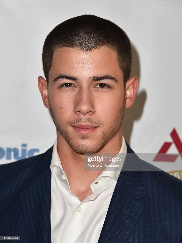 Singer <a gi-track='captionPersonalityLinkClicked' href=/galleries/search?phrase=Nick+Jonas&family=editorial&specificpeople=842713 ng-click='$event.stopPropagation()'>Nick Jonas</a> attends the Greater Los Angeles Chapter Of The American Diabetes Association's Father of the Year Awards at The Beverly Hilton Hotel on June 18, 2015 in Beverly Hills, California.