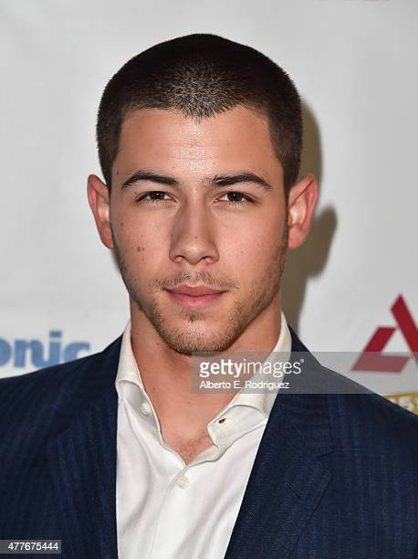 Singer Nick Jonas attends the Greater Los Angeles Chapter Of The American Diabetes Association's Father of the Year Awards at The Beverly Hilton...