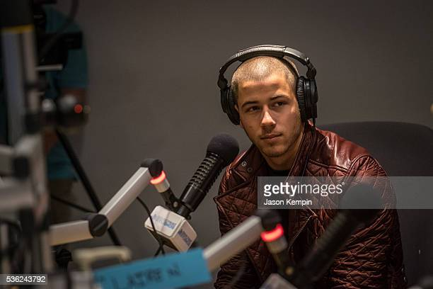 Singer Nick Jonas visits patients at the Childrens Hospital of Orange County on May 31 2016 in Orange California