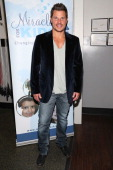Singer Nick Lachey attends Golden State Crossfit's 1st Annual 'Grizzlies Give Back Toy Drive' at Golden State Crossfit on December 13 2013 in Sherman...