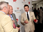 Singer Nick Lachey attends the GREY GOOSE Lounge at the 141st running of The Kentucky Derby at Churchill Downs on May 2 2015 in Louisville Kentucky