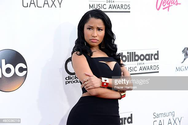 Singer Nicki Minaj attends the 2014 Billboard Music Awards at the MGM Grand Garden Arena on May 18 2014 in Las Vegas Nevada
