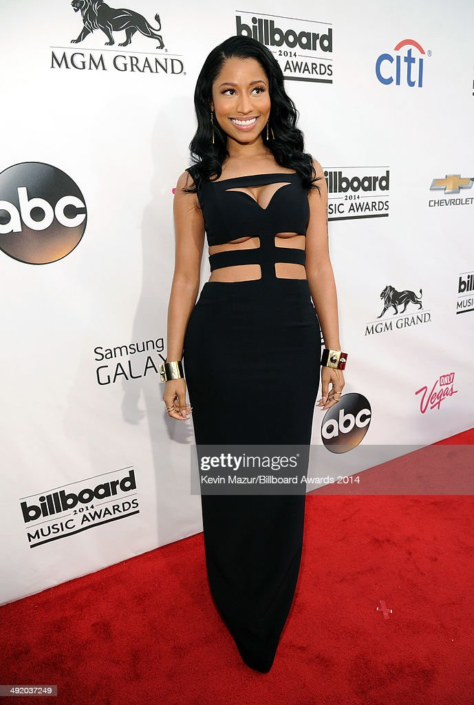 Singer <a gi-track='captionPersonalityLinkClicked' href=/galleries/search?phrase=Nicki+Minaj+-+Performer&family=editorial&specificpeople=6362705 ng-click='$event.stopPropagation()'>Nicki Minaj</a> attends the 2014 Billboard Music Awards at the MGM Grand Garden Arena on May 18, 2014 in Las Vegas, Nevada.