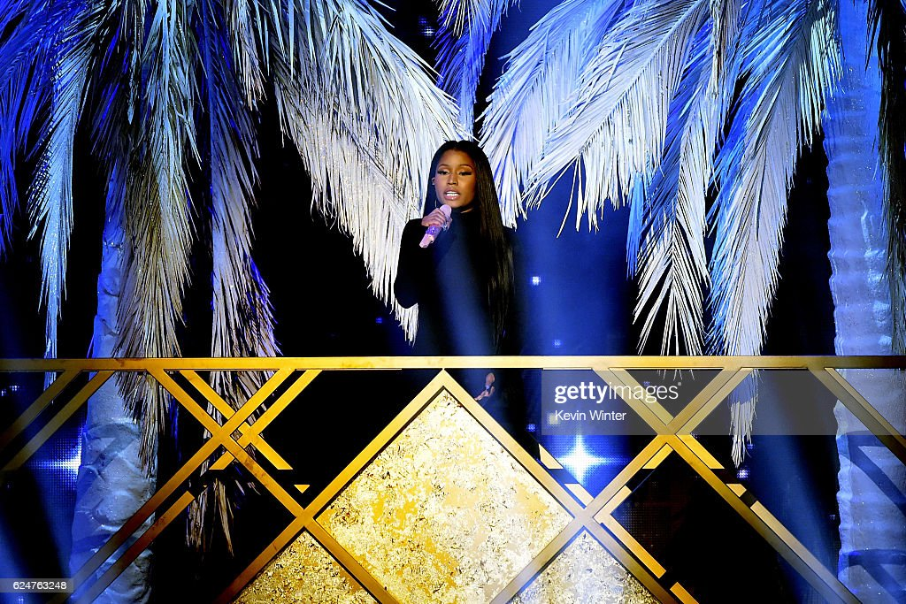 singer-nicki-minaj-performs-onstage-during-the-2016-american-music-picture-id624763248