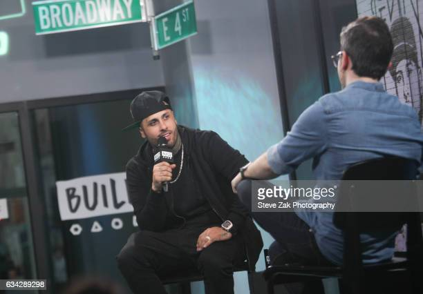 Singer Nicky Jam attends Build Series to discuss his new singe 'El Ganador' at Build Studio on February 8 2017 in New York City