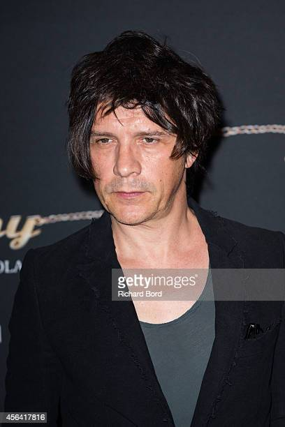 Singer Nicolas Sirkis attends the 'Mommy' Paris premiere at MK2 Bibliotheque on September 30 2014 in Paris France