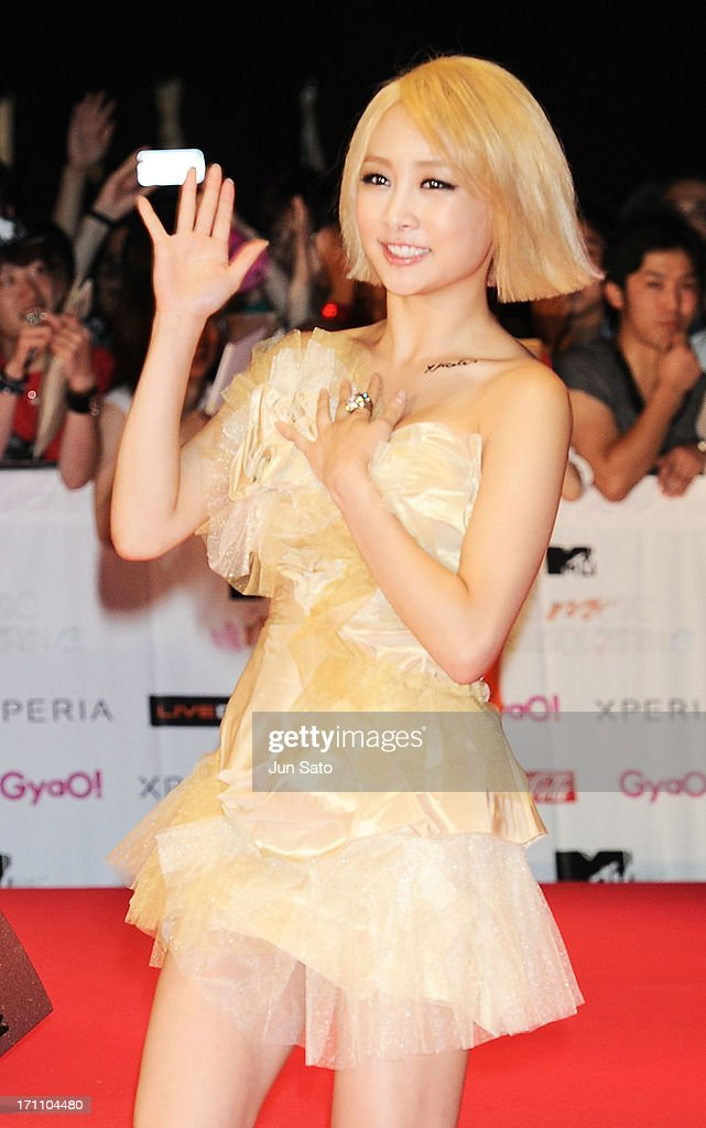 Singer NICOLE of Kara attends the MTV Video Music Awards Japan 2013 at Makuhari Messe on June 22, 2013 in Chiba, Japan.