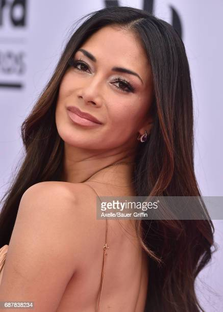 Singer Nicole Scherzinger arrives at the 2017 Billboard Music Awards at TMobile Arena on May 21 2017 in Las Vegas Nevada