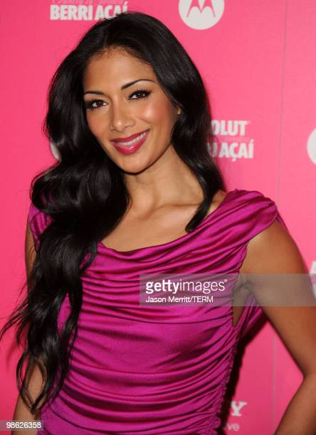 Singer Nicole Scherzinger arrives at the Us Weekly Hot Hollywood Style Issue celebration held at Drai's Hollywood at the W Hollywood Hotel on April...