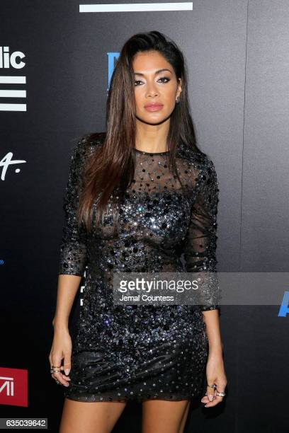 Singer Nicole Scherzinger at a celebration of music with Republic Records in partnership with Absolut and Pryma at Catch LA on February 12 2017 in...