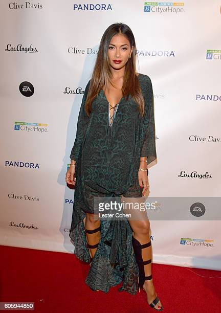 Singer Nicole Scherzinger attends Songs Of Hope at a private residence on September 15 2016 in Brentwood California
