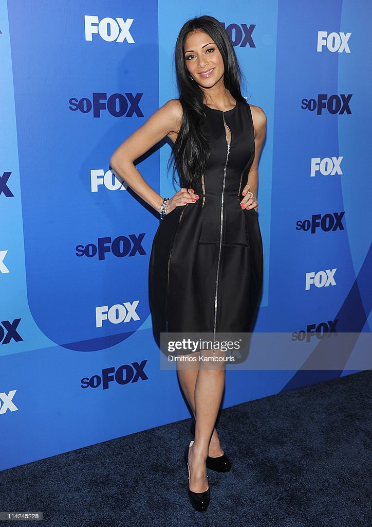 Singer <a gi-track='captionPersonalityLinkClicked' href=/galleries/search?phrase=Nicole+Scherzinger&family=editorial&specificpeople=678971 ng-click='$event.stopPropagation()'>Nicole Scherzinger</a> attends the 2011 Fox Upfront at Wollman Rink - Central Park on May 16, 2011 in New York City.