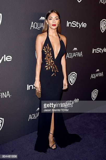 Singer Nicole Scherzinger attends The 2016 InStyle And Warner Bros 73rd Annual Golden Globe Awards PostParty at The Beverly Hilton Hotel on January...