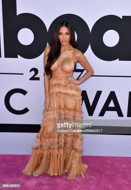 Singer Nicole Scherzinger attends the 2017 Billboard Music Awards at TMobile Arena on May 21 2017 in Las Vegas Nevada