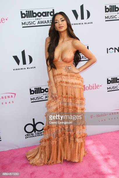 Singer Nicole Scherzinger attends the 2017 Billboard Music Awards at the TMobile Arena on May 21 2017 in Las Vegas Nevada
