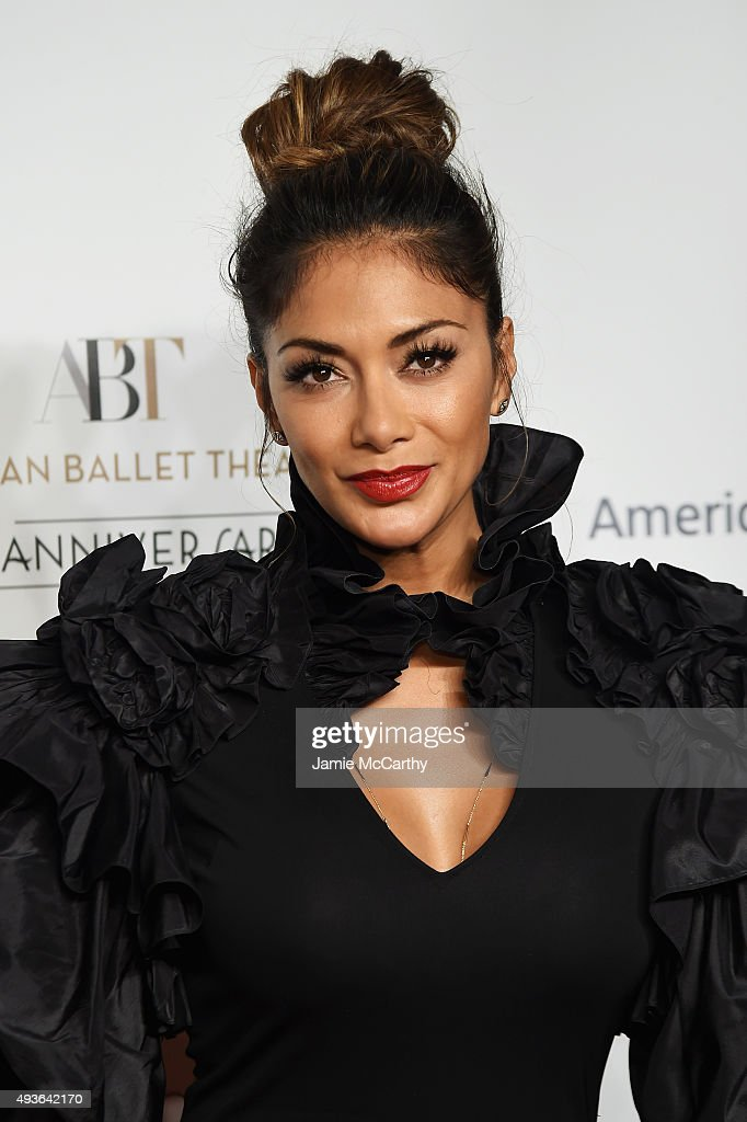 Singer Nicole Scherzinger attends the American Ballet 75th Anniversary Fall Gala at David H. Koch Theater at Lincoln Center on October 21, 2015 in New York City.