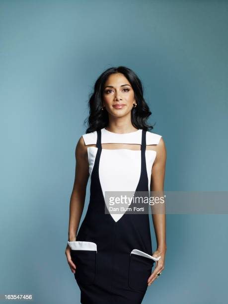 Singer Nicole Scherzinger is photographed for the Independent on February 12 2013 in London England
