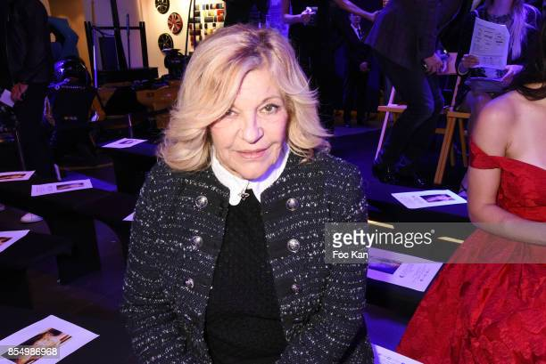 Singer Nicoletta attends the Christophe Guillarme Show as part of the Paris Fashion Week Womenswear Spring/Summer 2018 on September 27 2017 in Paris...