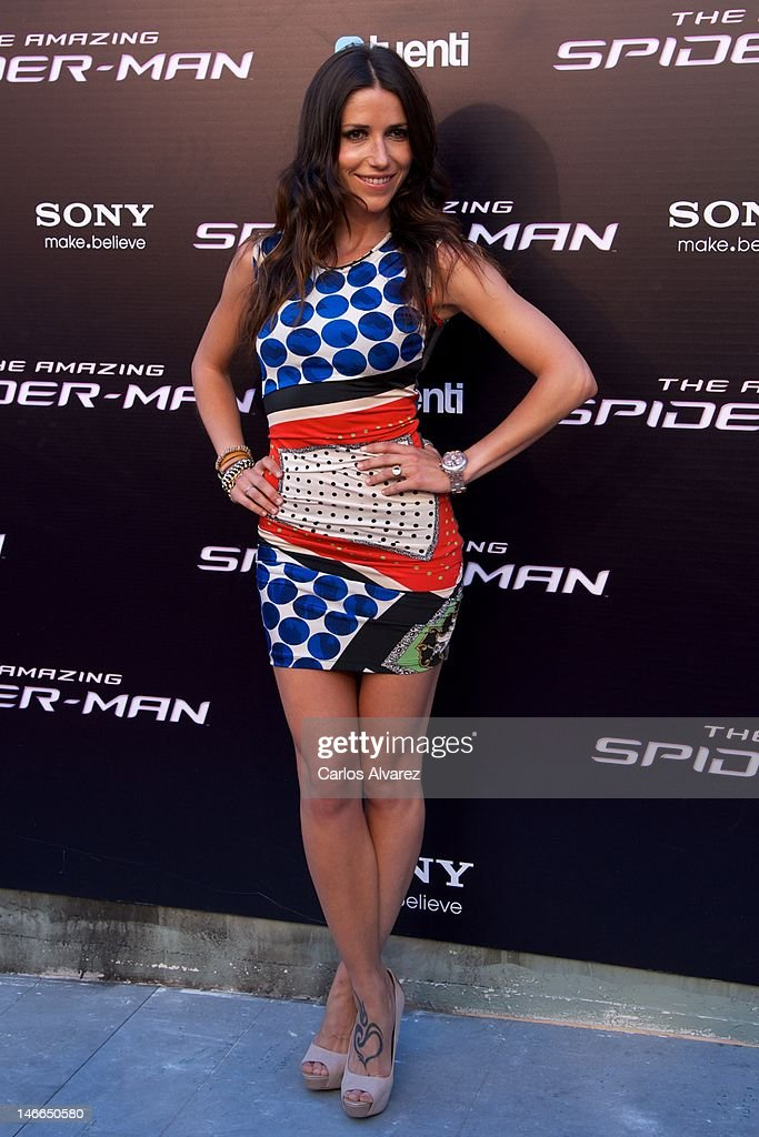 Singer Nika attends 'The Amazing Spider-Man' premiere at Callao cinema on June 21, 2012 in Madrid, Spain.