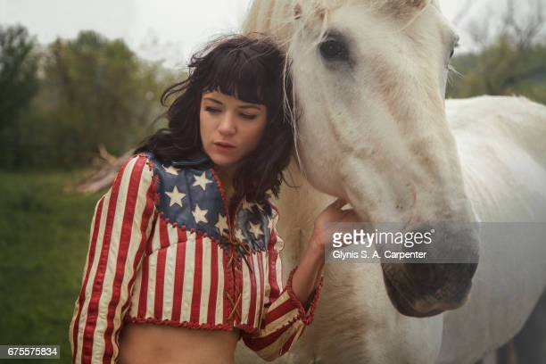 Singer Nikki Lane is photographed on May 22 2014 in New York