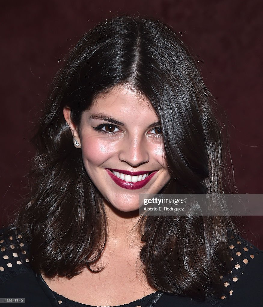 Singer Nikki Yanofsky arrives to the premiere of RADIUSTWC's 'Keep On Keepin' On' at Landmark Theatre on September 17 2014 in Los Angeles California