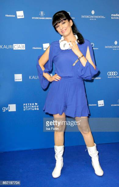 Singer Nilam Farooq Nina Gnaedig during the 6th German Actor Award Ceremony at Zoo Palast on September 22 2017 in Berlin Germany