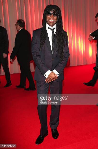 Singer Nile Rogers during the Goldene Kamera 2015 reception on February 27 2015 in Hamburg Germany