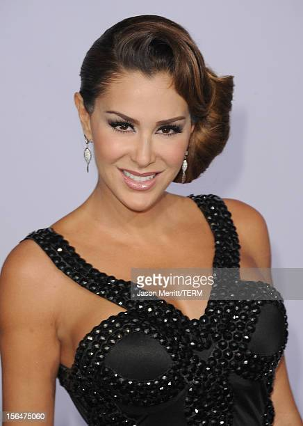 Singer Ninel Conde arrives at the 13th annual Latin GRAMMY Awards held at the Mandalay Bay Events Center on November 15 2012 in Las Vegas Nevada