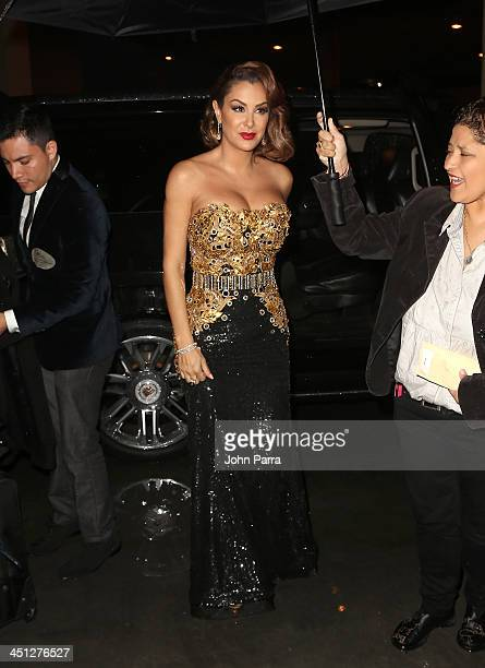 Singer Ninel Conde attends The 14th Annual Latin GRAMMY Awards at the Mandalay Bay Events Center on November 21 2013 in Las Vegas Nevada