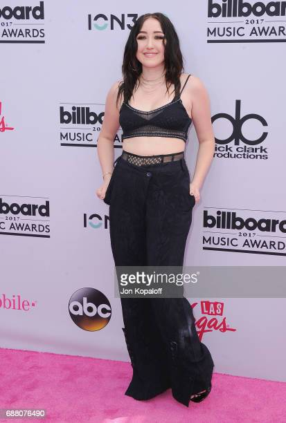 Singer Noah Cyrus arrives at the 2017 Billboard Music Awards at TMobile Arena on May 21 2017 in Las Vegas Nevada