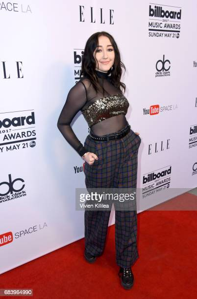 Singer Noah Cyrus attends the '2017 Billboard Music Awards' And ELLE Present Women In Music at YouTube Space LA on May 16 2017 in Los Angeles...