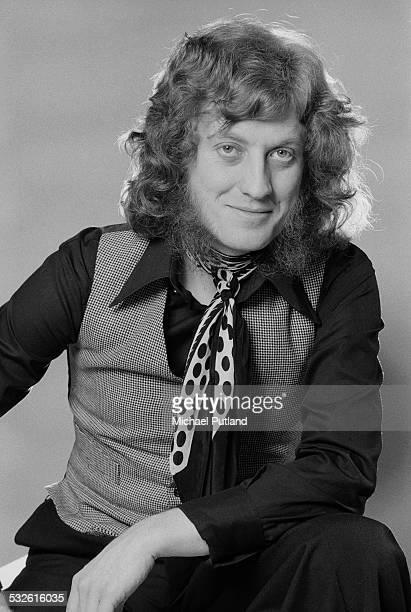 Singer Noddy Holder of English rock group Slade 17th February 1975