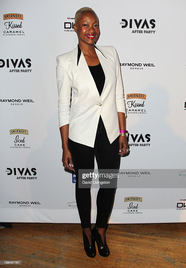 Singer Noelle Scaggs attends the VH1 Divas After Party to benefit the VH1 Save The Music Foundation at the Shrine Expo Hall on December 16, 2012 in Los Angeles, California.