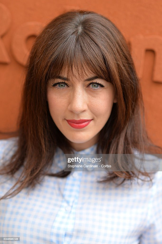 Singer <a gi-track='captionPersonalityLinkClicked' href=/galleries/search?phrase=Nolwenn+Leroy&family=editorial&specificpeople=4343653 ng-click='$event.stopPropagation()'>Nolwenn Leroy</a> attends day six of the 2016 French Open at Roland Garros on May 27, 2016 in Paris, France.