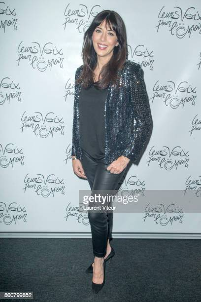Singer Nolwenn Leroy attends 'Leurs Voix Pour L'Espoir 2017' at L'Olympia on October 12 2017 in Paris France