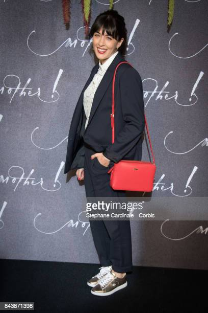 Singer Nolwenn Leroy attends the French Premiere of 'mother' at Cinema UGC Normandie on September 7 2017 in Paris France