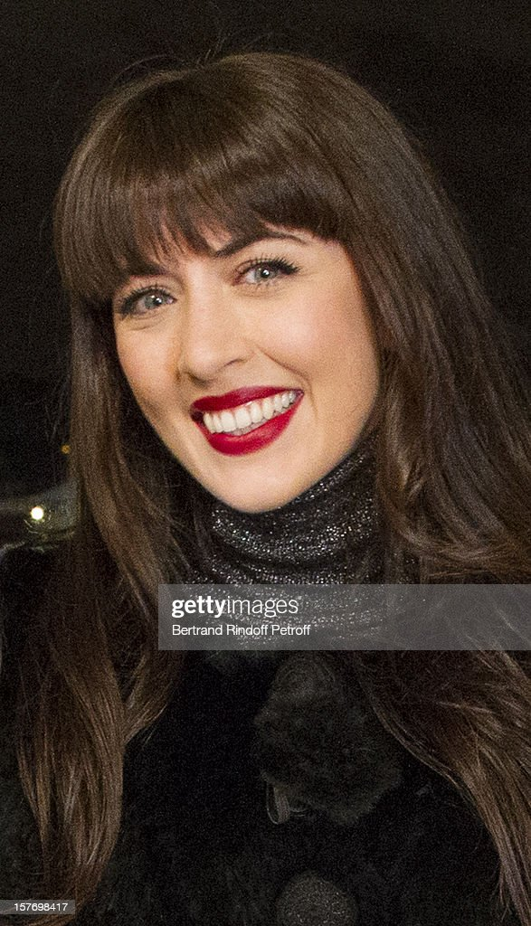 Singer <a gi-track='captionPersonalityLinkClicked' href=/galleries/search?phrase=Nolwenn+Leroy&family=editorial&specificpeople=4343653 ng-click='$event.stopPropagation()'>Nolwenn Leroy</a> attends the shooting of the year end program 'Toute la musique qu'on aime !' set to be broadcast on New Year's Eve on French private channel TF1, at Hotel Crillon on December 4, 2012 in Paris, France.